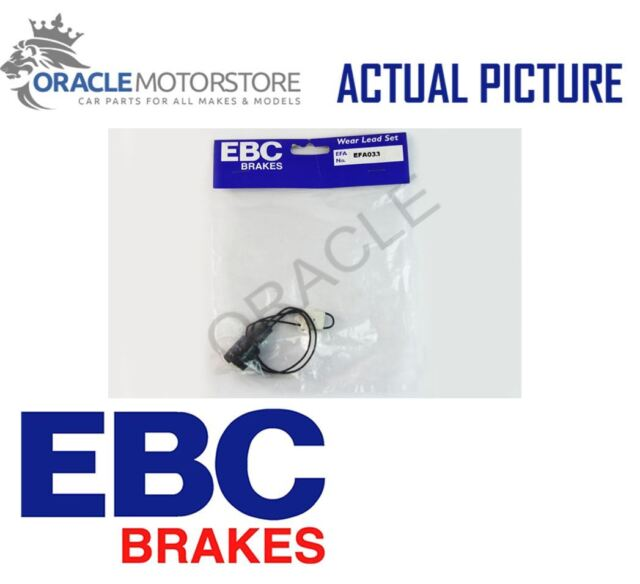 NEW EBC FRONT BRAKE PAD WEAR SENSOR WARNING INDICATOR GENUINE OE QUALITY EFA033
