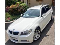 BMW 320 2.0TD (177)**M SPORT TOURING ESTATE**6Speed,11Stamps,New MOT,Stunning!**