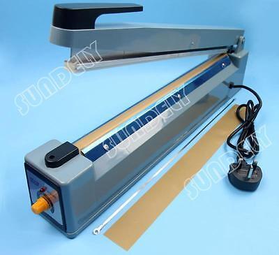 Plastic PP PE Bag Sealing Machine Element  Impulse Heat Sealer + Teflon 400mm