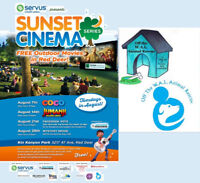 Off The W.A.H.L..  Sunset Cinema FREE Outdoor Movies