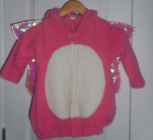 Girl's size 4T/5T Butterfly Costume
