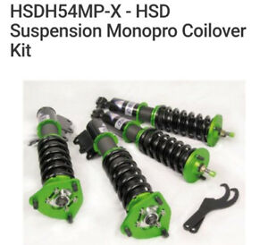 HSD Monopro Coilovers - Civic Si 2014-2015