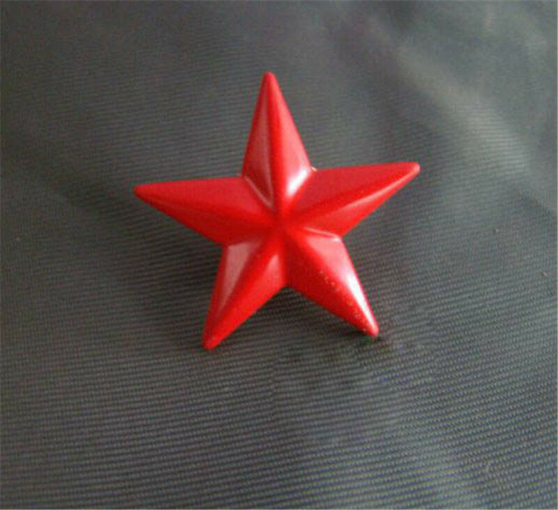 Chinese Russian Army Trooper Hat Ushanka Red Star Badge Brooch Pin Cosplay Toy