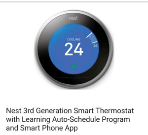 Nest 3rd generation thermostat new sealed