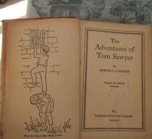 TWO ANTIQUE BOOKS -