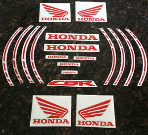 Honda CBR decals