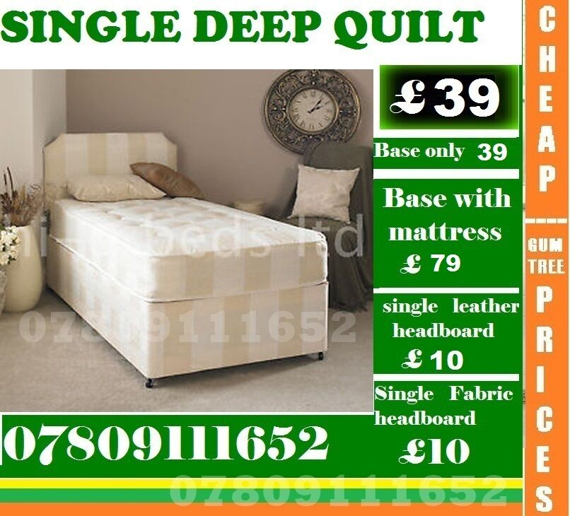 Brand New Double Single King Size Small Double Base deep quilted Base Frame Beddingin Barking, LondonGumtree - IMPRESSIVE OFFER....EXTREME Quality Furniture like Divan and Leather Base available contact us