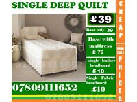 Brand New Double Single King Size Small Double Budget Frame Bedding