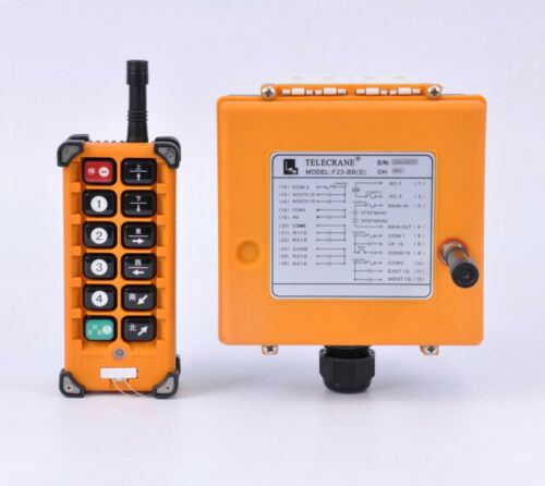 F23-BB(S) Industrial Crane wireless Remote Control 1 Transmitter +1 Receiver 24V