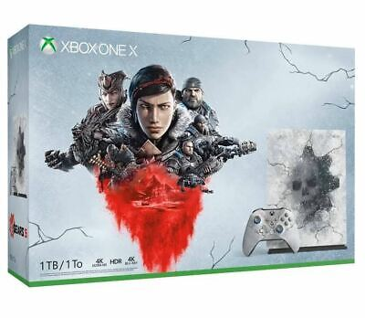Xbox One X 1TB Console – Gears 5 Limited Edition (Microsoft Xbox One X 1tb Gaming Console)