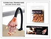 Reusable Flexible Nail Art Tips Training Fake Hand Nail Salon Tip Rocklea Brisbane South West Preview