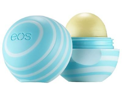 Eos Visibly Soft Lip Balm Sphere  Vanilla Mint 0 25 Oz  Pack Of 9