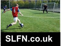 NEW TO LONDON? PLAYERS WANTED FOR FOOTBALL TEAM. FIND A SOCCER TEAM IN LONDON. PLAY IN LONDON cx34