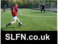 Join the SOUTH LONDON FOOTBALL NETWORK, PLAY WITH SLFN, FIND FOOTBALL IN LONDON, PLAY SOCCER vc45