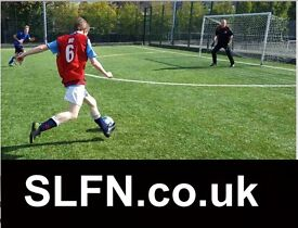 Find football in SOUTH London, play football in London, join football team in London, pick up soccer