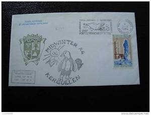 TAAF enveloppe 21/6/84 - timbre - yvert et tellier n°96 (cy4)