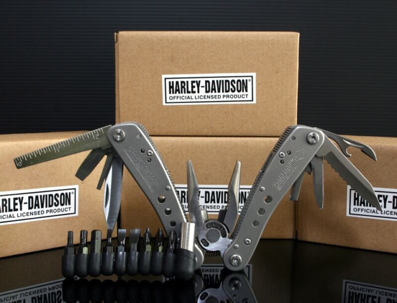 Harley Davidson MULTI PLIER TOOL knife *1 set   Outdoor Survival