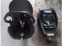 Maxi cosi cabriofix and easy fix isofix base