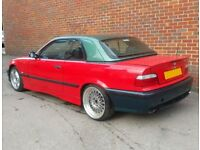 BREAKING BMW E36 323I M SPORT CONVERTIBLE (M3 318 320 328 325 COUPE TOURING COMPACT CABRIOLET)