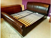 Luxury grandeur super king size bed