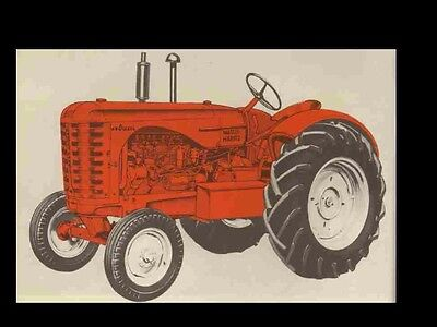 MASSEY HARRIS MH 44 TRACTOR SERVICE & PARTS MANUALS 240pg for MH44 - Massey Harris Tractor Parts