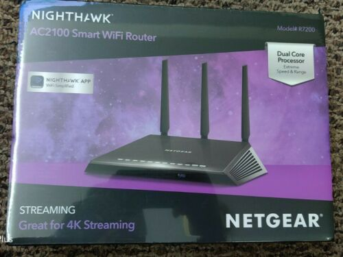 NETGEAR Nighthawk AC2100 Smart Wi-Fi Router  NEW