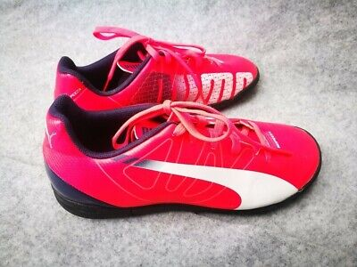 PUMA EVOSPEED 5.4 TT ASTRO TURF TRAINERS LAVA  UK SIZE 2 to 5.5 BN RRP £30 Child