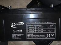 Three leisure batteries