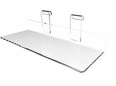 Clear Gridwall Shoe Shelf Gridwall Plexiglass Shoe Rack Display Showcase