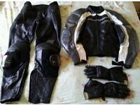 Hein Gericke leathers inc Held gloves