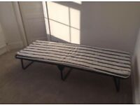 JayBe fold single bed - perfect condition