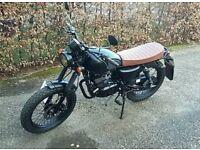 Mutt Mongrel Black Sabbath 125cc Motorbike Motorcycle 2017 Classic