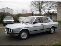 Genuine BMW E28 steel wheels, fully refurbished!