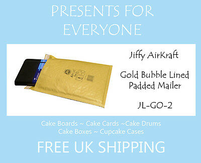10 x Jiffy Airkraft Gold Bubble Lined Postal Padded Mailing Bags JL-GO-2 E/2