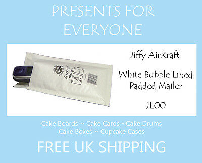 10 x Jiffy Airkraft White Bubble Lined Postal Padded Mailing Bags JL00 B/00