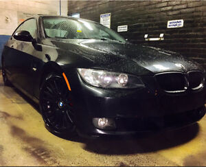 BMW 328i 2008 COUPE 2DOORS/Air intake/ straight pipe