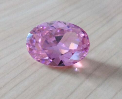 AAAAA Natural Pink Sapphire Oval Faceted Cut VVS Loose Gemstone U Pick Size