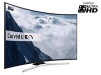 SAMSUNG 65 CURVED SMART UHD HDR 4K 1400PQI FREEVIEW HD