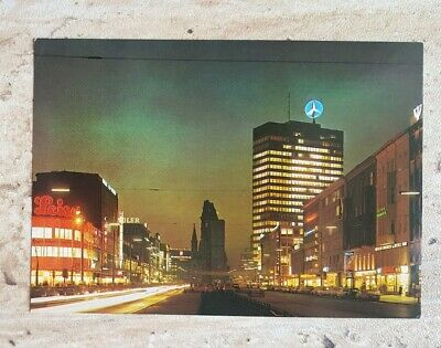 Europa-center (AK BERLIN - Tauentzienstr. mit Europa Center und Kaiser-Wilhelm-Gedächtniskirche)