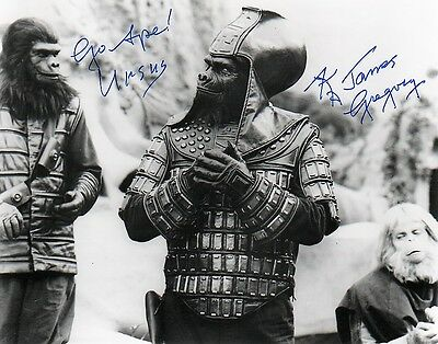 Planet of the Apes 8x10 AUTOGRAPHED OFFICIAL WEBSITE Booth Colman 1923-2014
