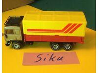 ° Modellauto NEU Blister Siku 0813 Scania LKW Betonmischer rot