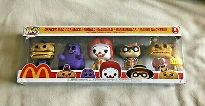 Funko Pop! 5 Five-Pack McDonald's Ad Icons Limited Edition Box Damaged