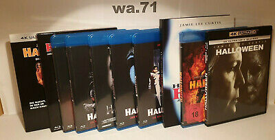 4K Ultra HD / Blu-Ray / Halloween / Filmreihe / H20 / Remake / Mediabook