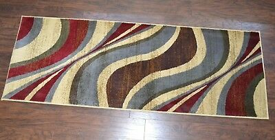 6 Foot Runner Rug Coffee Shop Collection by Unique Loom 6' by 2'2