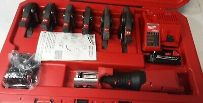 Milwaukee M18 2773-22 Force Logic Pro Press Tool Kit With Six Jaws 12-2 L