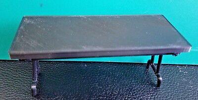 RC 1/10 Scale Black Folding Table Picnic Rock Crawler Truck Garage Accessories ()