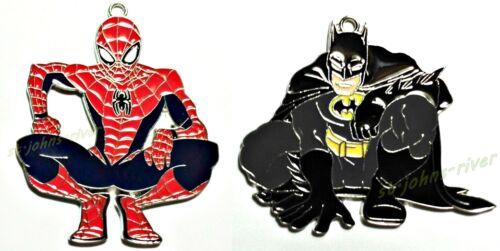(2) SPIDER-MAN & BATMAN MARVEL - DC COMICS by HALLMARK
