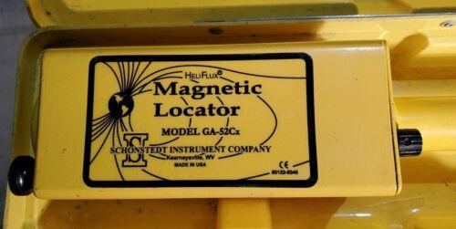 Schonstedt  GA-52Cx Magnetic Locator w/ Hard Case & Instruction Manual
