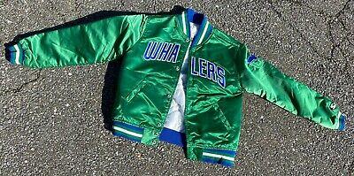 Vintage Hartford Whalers Starter Canes Jacket Very Clean 80's Youth Medium