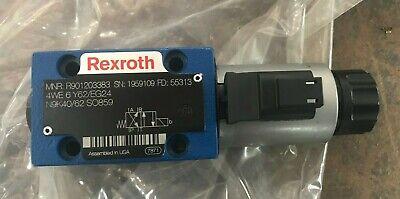 Bosch Rexroth R901203383 Solenoid Valve